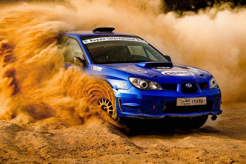 SUBARU IMPREZA  SPORTS RALLY CAR A4 POSTER PRINT