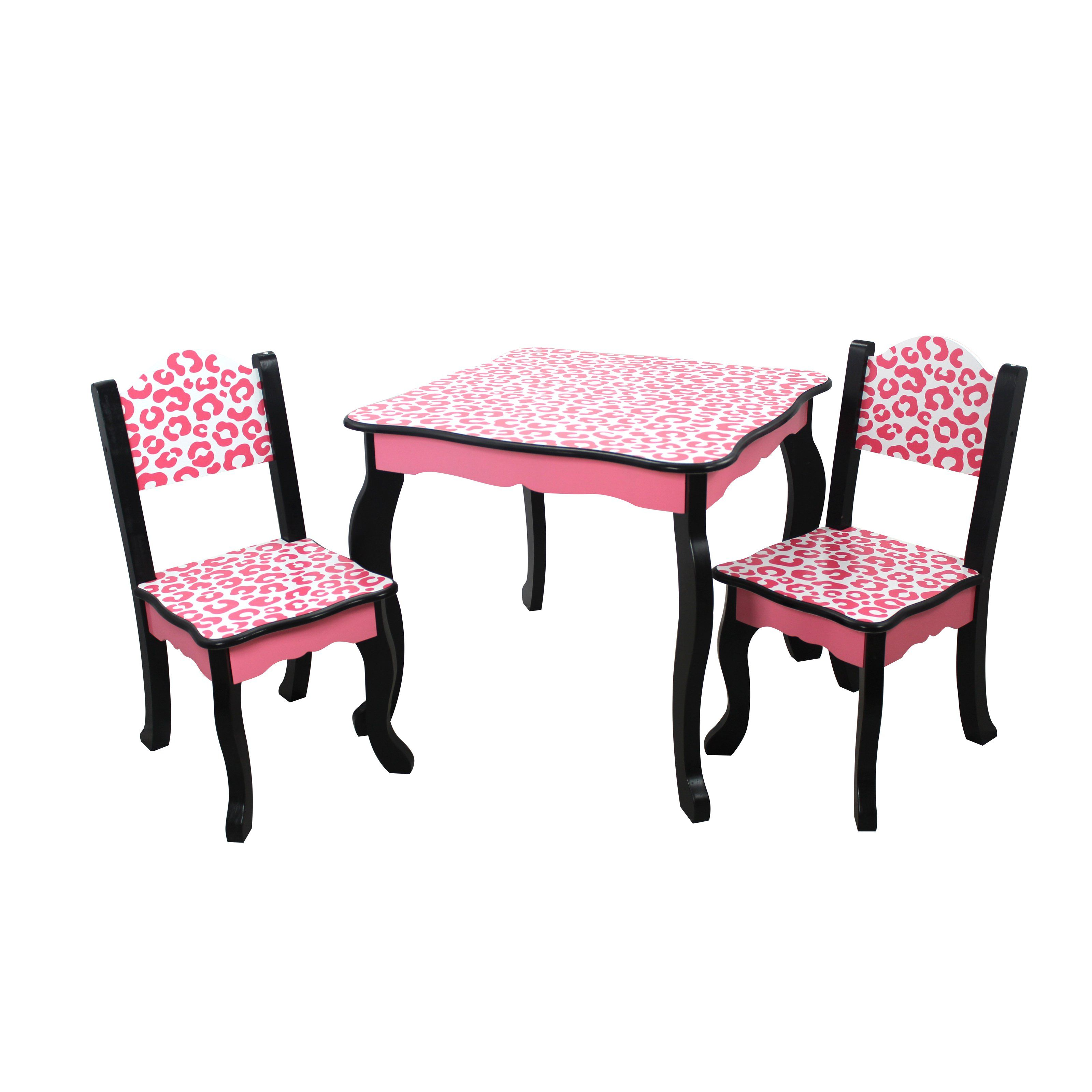 Teamson Kids Fashion Prints Table Chair Set From Hayneedle Com  # Muebles Siza De Concordia