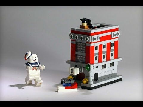 How To Build Lego Microscale Hook Ladder 8 The Ghostbuster Hq