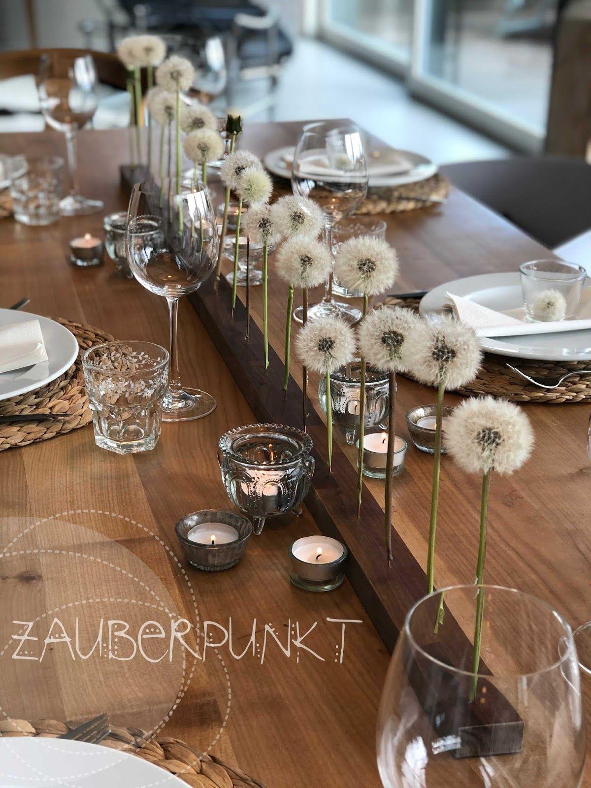 Photo of *ZAUBERPUNKT*: Ich liebe es, Tische schön zu dekorieren… ( Rückblick Teil 1)