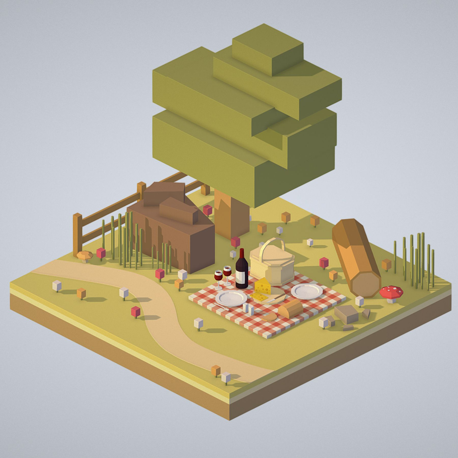 Pin by Michael K on GAME in 2019   Landscape model