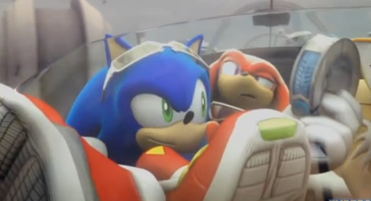 Knuckles in the back - XD