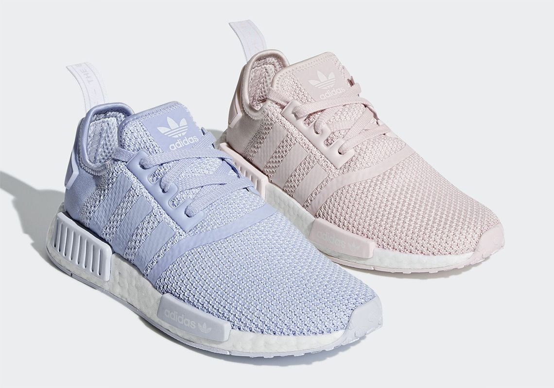 "964b9834443bc adidas NMD R1 ""Orchid Tint"" and ""Aero Blue"" - Lifestyle news website  covering streetwear"