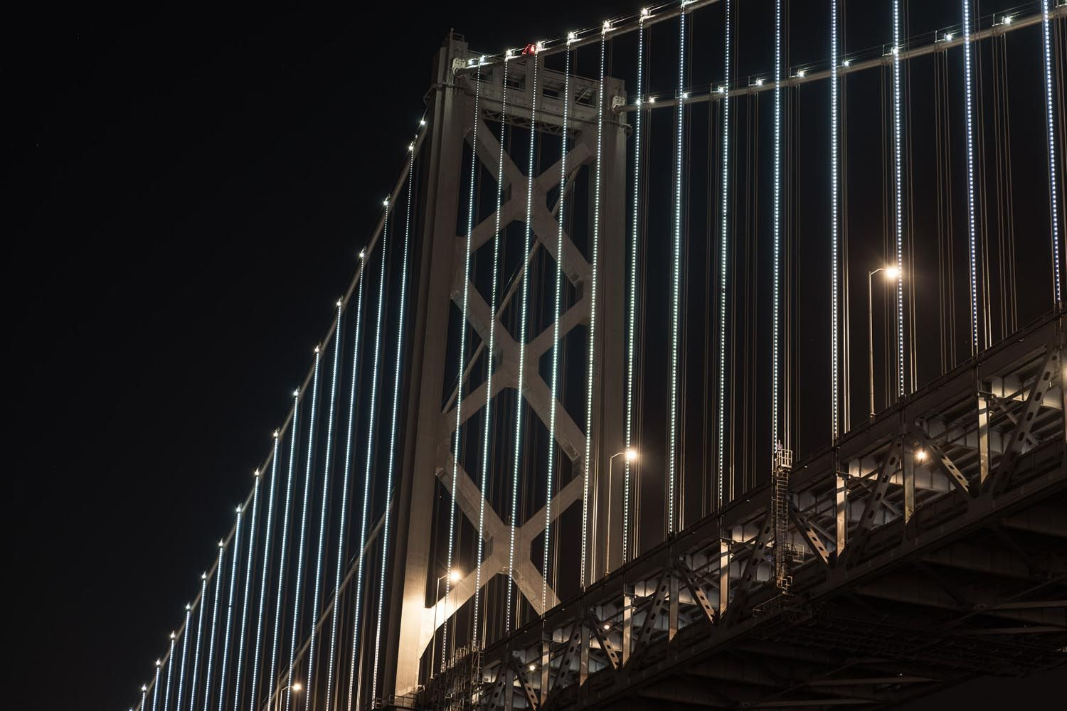 architectural lighting design san francisco oakland bay bridge