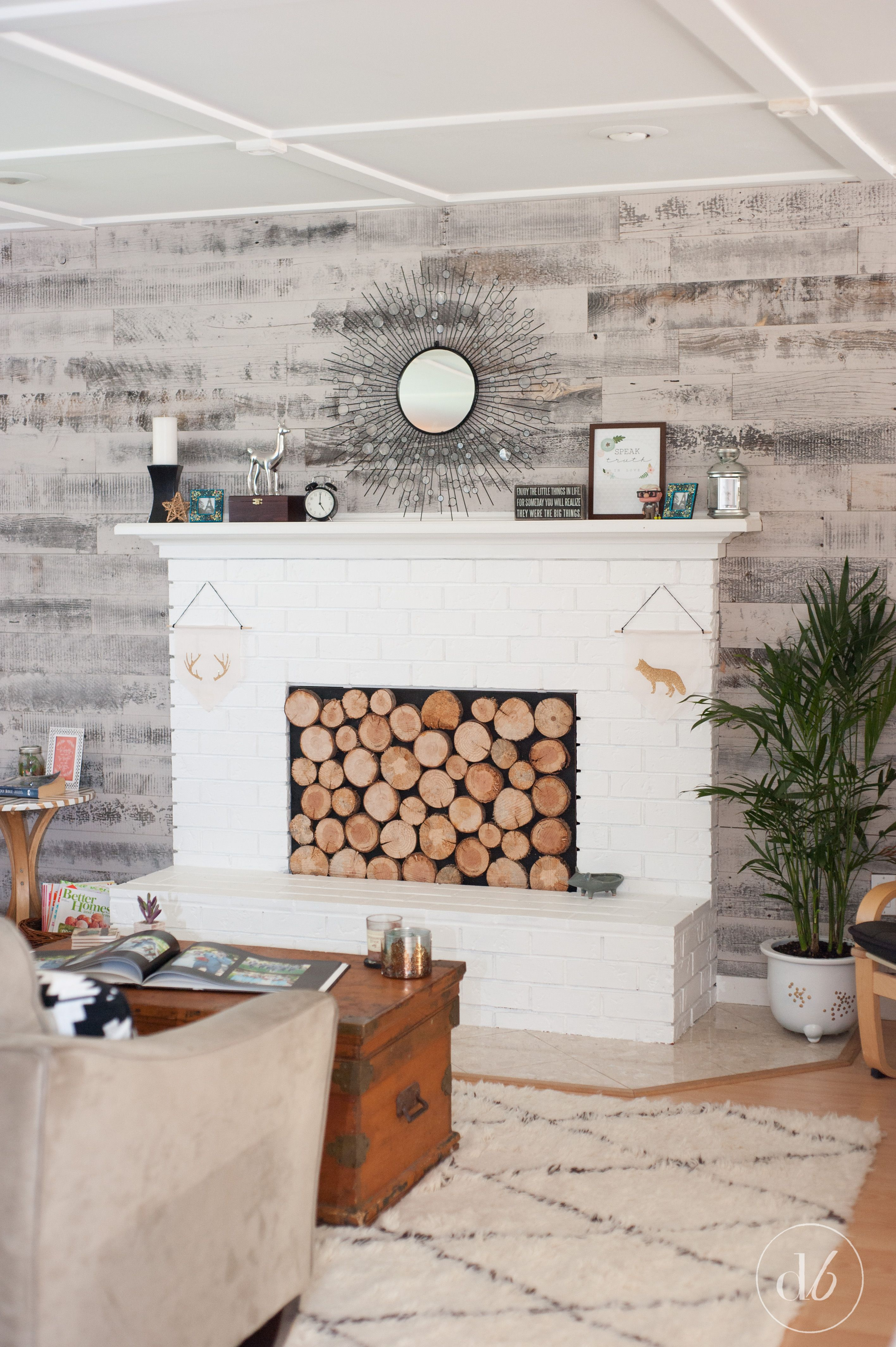 Stikwood Wall Living Room Makeover