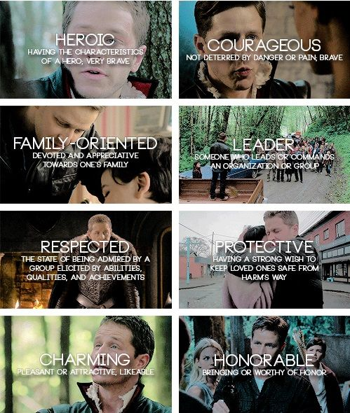 Charming personality traits