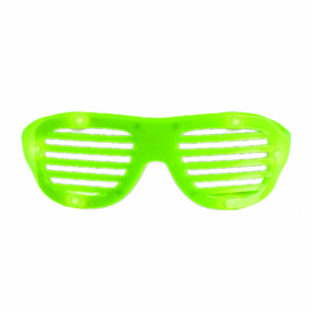 Led Hip Hop Shutter Shades Sunglasses Green Magic Matt S Brilliant Blinkys Shutter Shades Hip Hop Sunglasses Green Magic