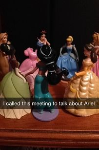 These Brilliant Snapchat Stories About Disney Princesses' Secret Lives Will Make You Laugh Out Loud - Buzzfeed