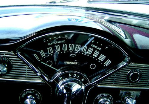 Bel Air dash - I don't know why, but reminds me of Cousin Alice!!!
