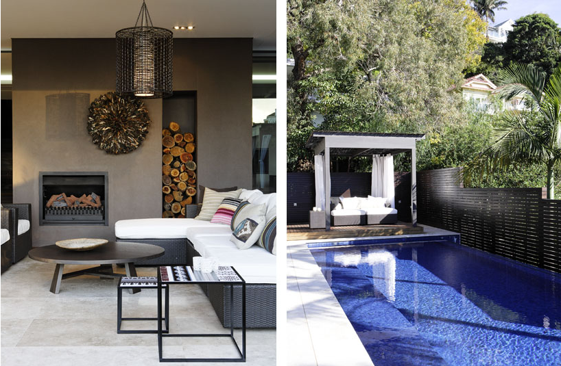 modern home pool r house bellevue hill bruce stafford architects
