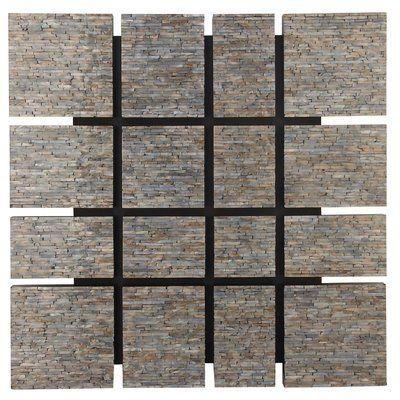 George Oliver Wood Inlay Wall Decor Black Wall Decor Decor