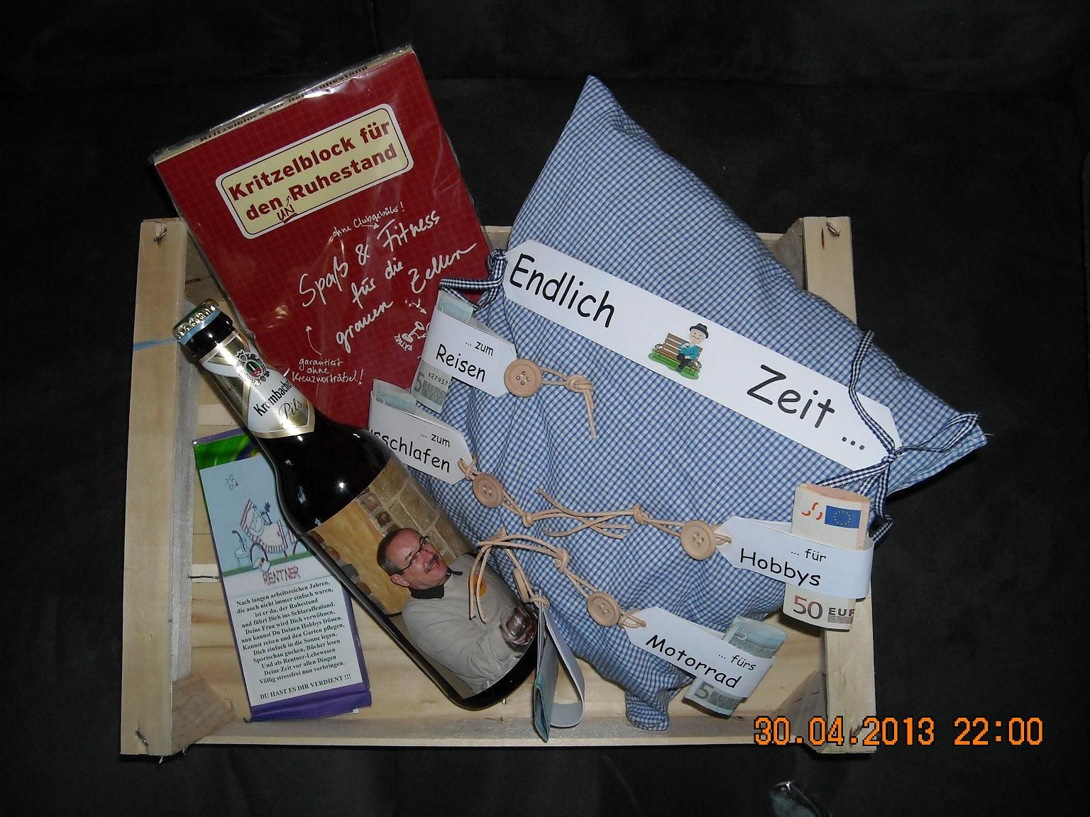 Rentengeschenk Craft Creativity Gifts Diy Gifts Und Birthday