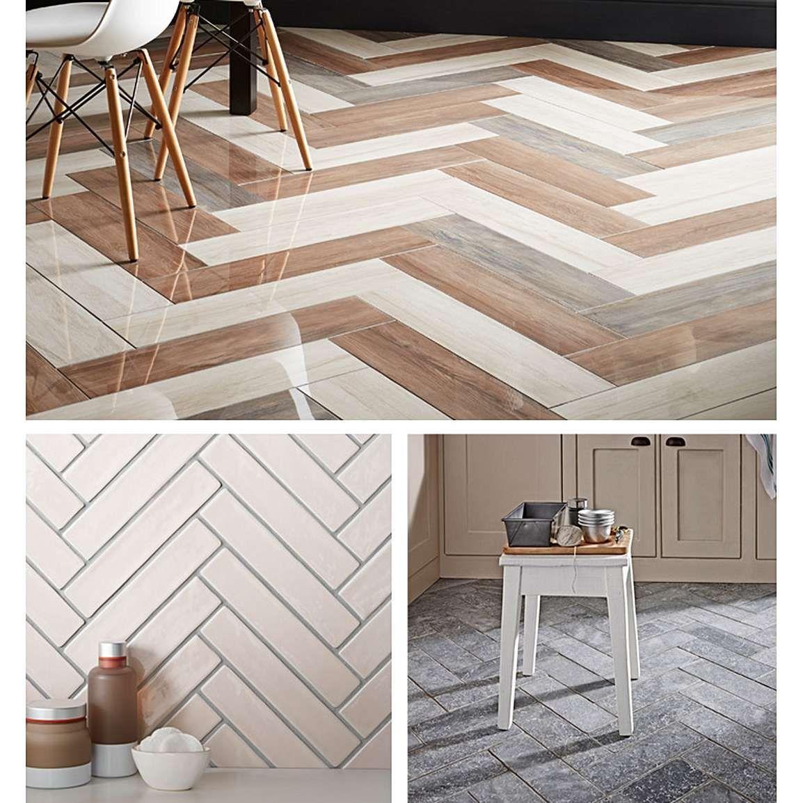 How To Style With Herringbone Tiles in 2020 Herringbone