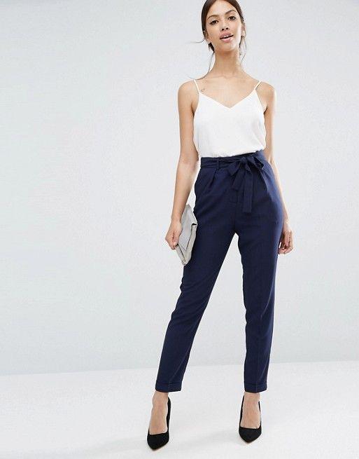 Discover Fashion Online Pantalones De Vestir Moda Ropa De Trabajo Ropa
