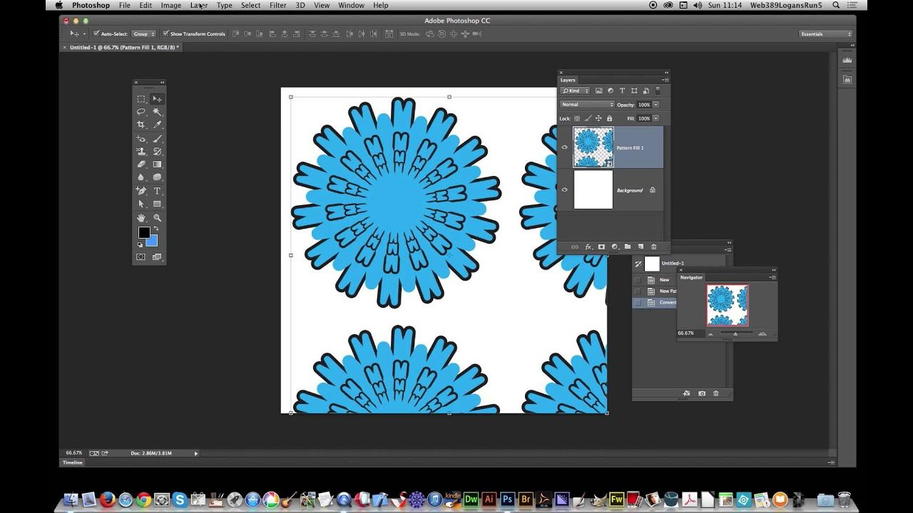 CC Removing patterns from pattern fill layer