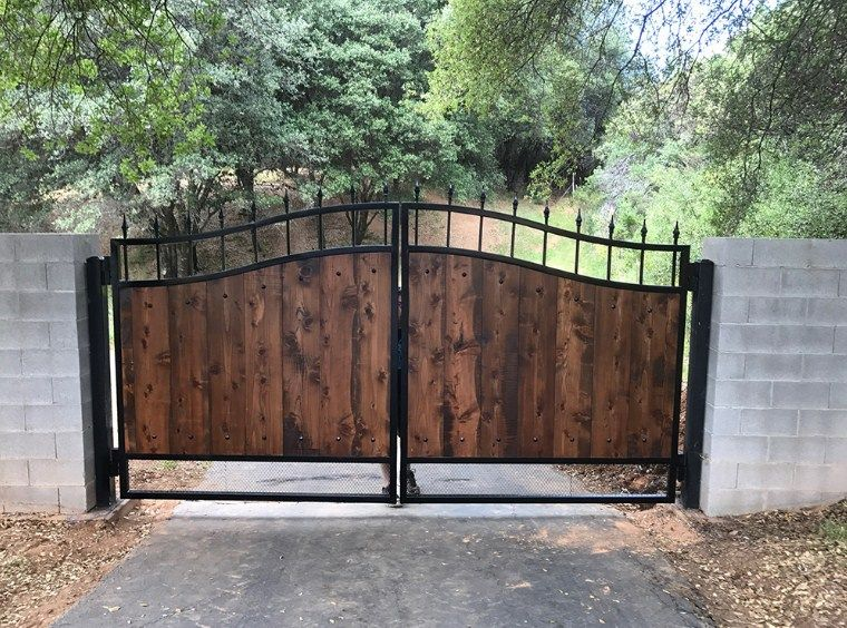 Pin On Wood Automated Gates