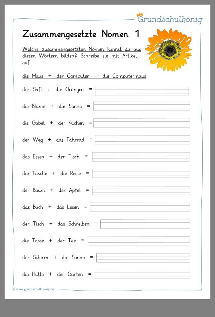 Pin Von Tanja Schneider Auf Schule Wortbildung Deutsch Lernen Lesen Lernen