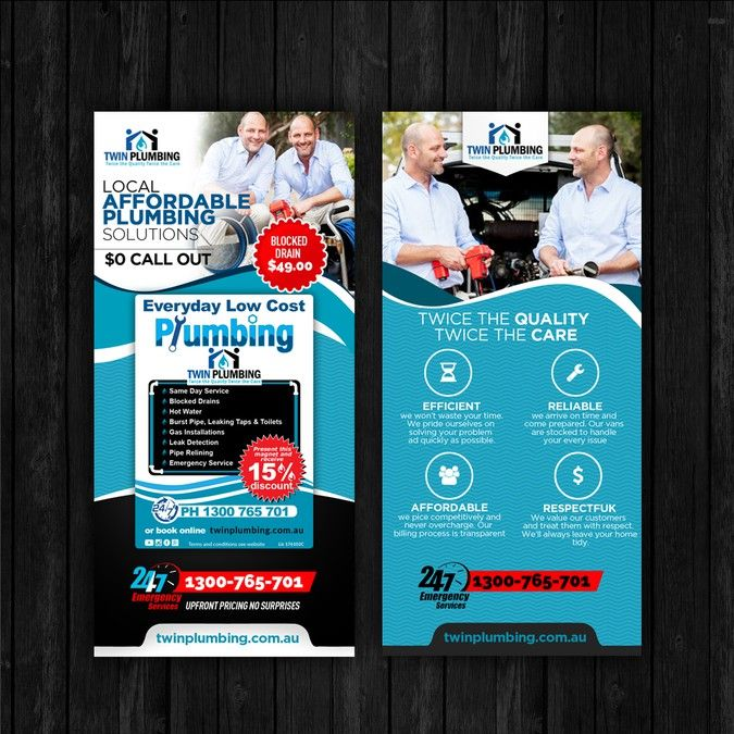 create a great plumbing flyer that will be awesome by sangyogita123