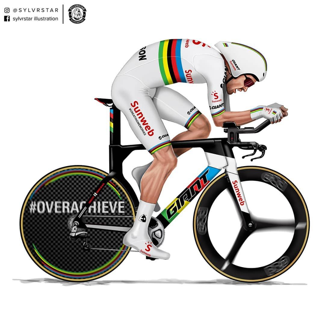 I Just Updated The Kit And Bike Tom Dumoulin To Get Your Illustration Email Me At Sylvrstarr Tom Dumoulin Cycling Art Bicycle Race