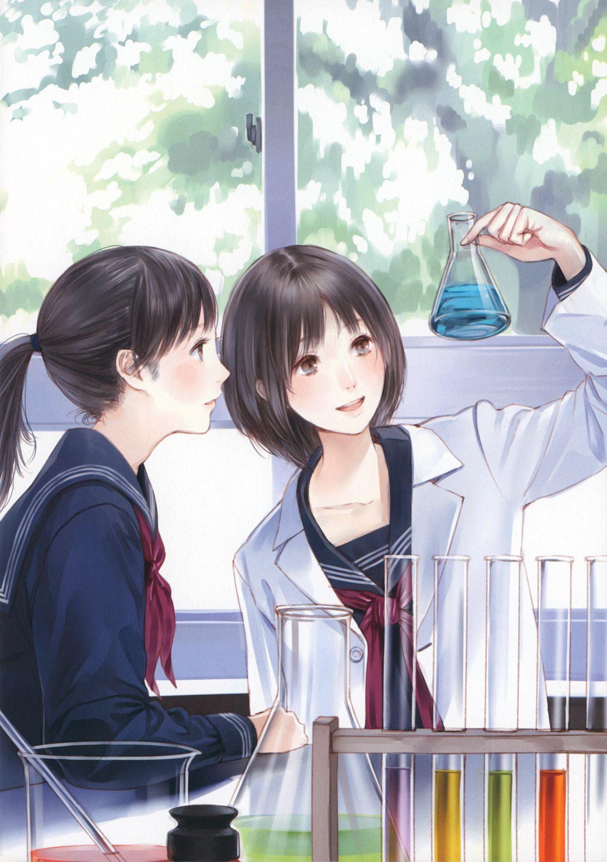 ปักพินในบอร์ด Anime
