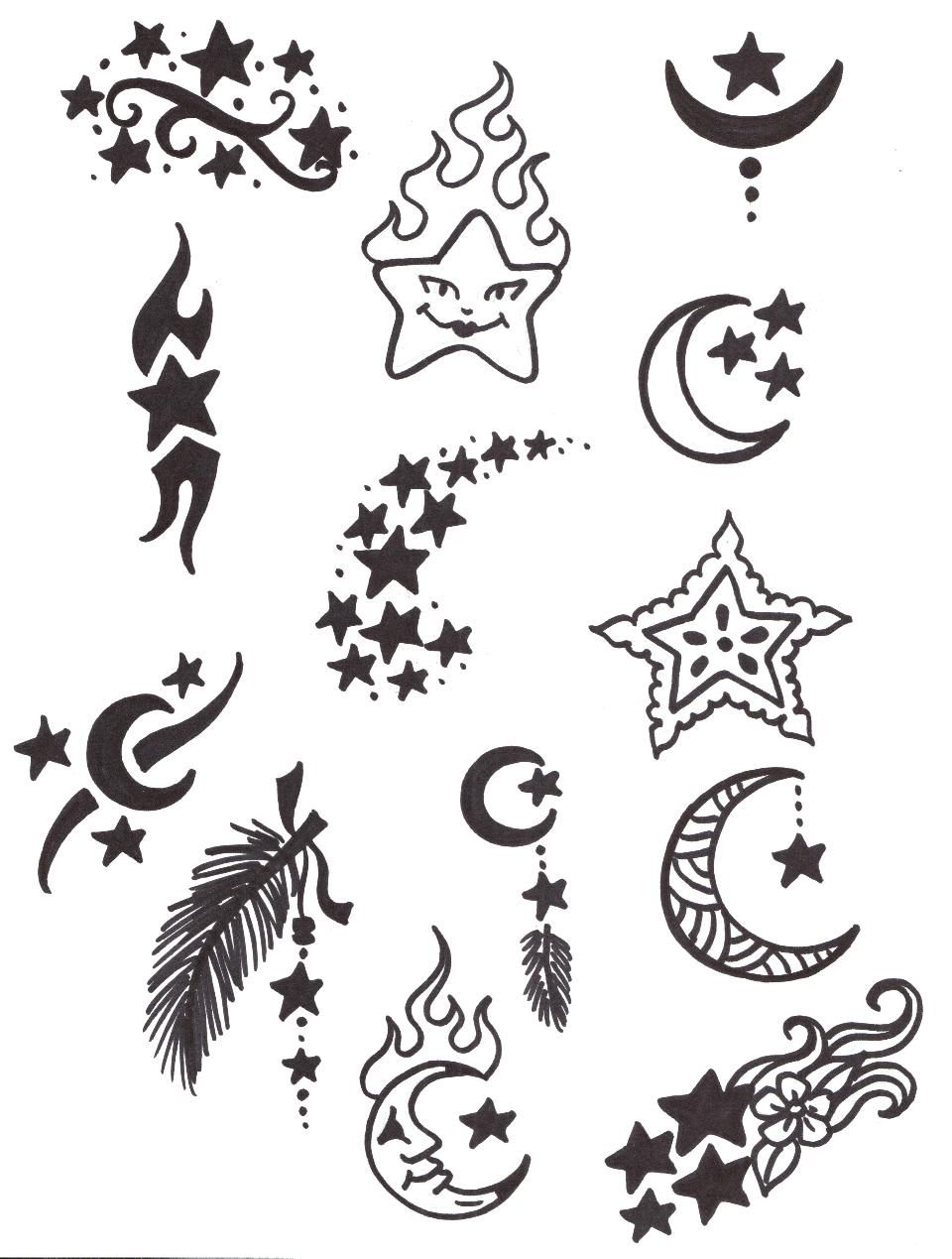 23+ Stunning Easy tattoo outlines for beginners image ideas