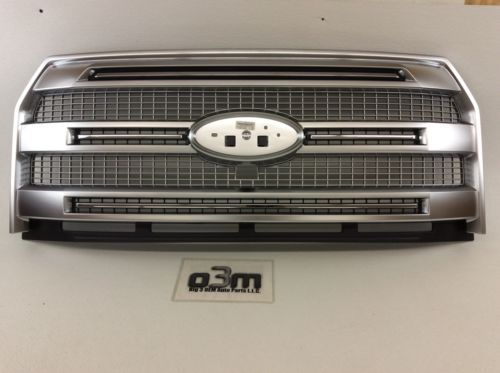 2015 2016 2017 Ford F 150 Platinum Front Grille Chrome W Camera Hole New Oem Ford F150 Truck Accessories Ford Grilles