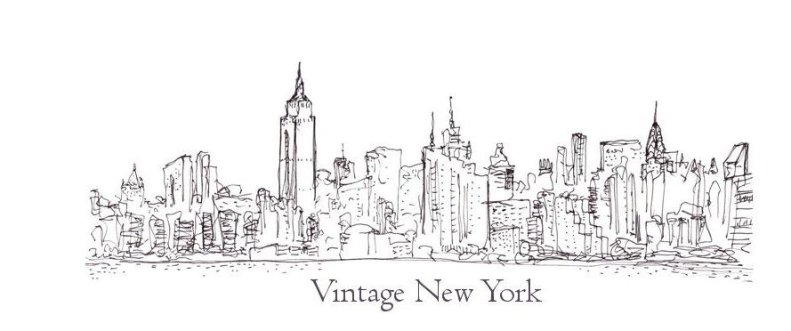 vintage new york coloring pages