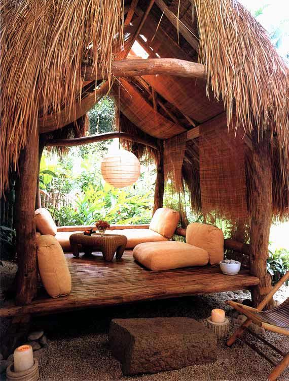 Ifugao Inspired Hut Philippines Bamboo House Design Bamboo