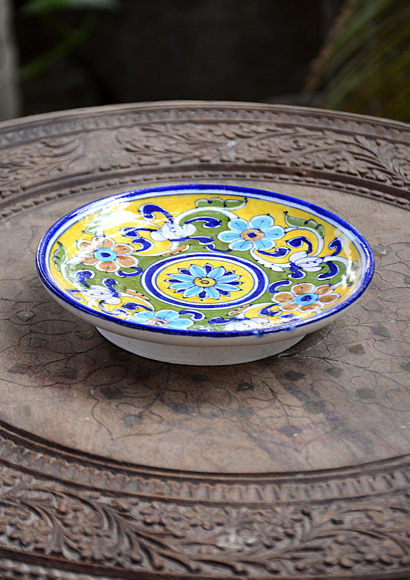 Hand Crafted Plates Dinning And Bath Bd This Handcrafted Oval Shape Plates Decorative Made From Ceramic This Plates Are Finis With Images Plates Handcraft Handmade Pottery