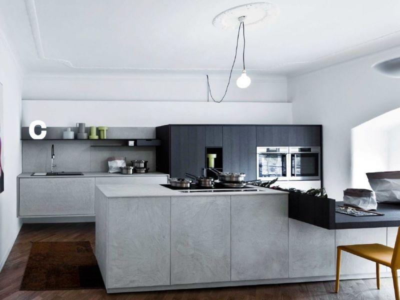 Einbauküche mit Kochinsel \u2013 50 moderne Designs von renommierten - einbauküchen für kleine küchen