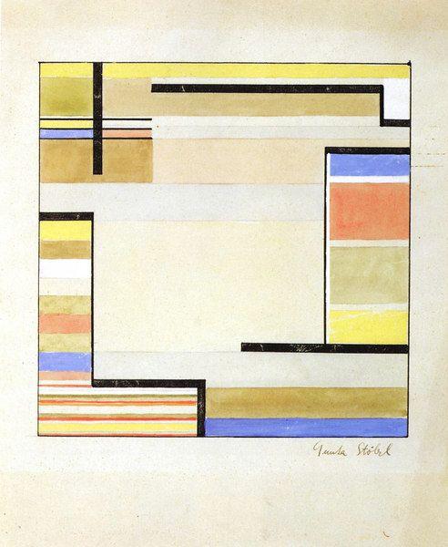 Designs For Carpets Gunta Stolzl Bauhaus Textiles Bauhaus Abstract Art Quilt