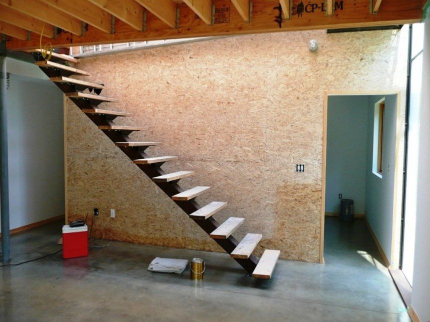 How To Build Floating Steps Outside Form Concrete Do Stairs Work Hanging  Design Modern Homes Construction