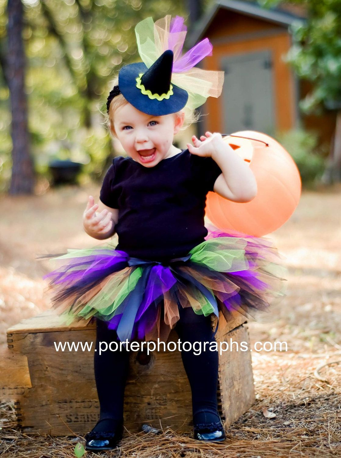 witch costume tutu for baby girls infant halloween by danburylane 3295 adorable - Baby Witch Costumes Halloween