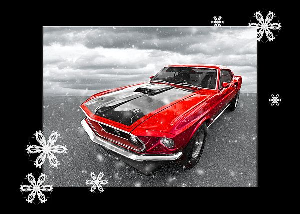 This 1969 Mach1 Ford Mustang A Classic American Muscle Car Makes A