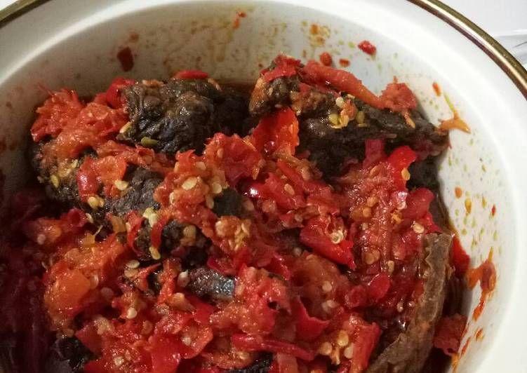Resep Paru Rabu Sambalado Minang Oleh Marshelalf Resep Resep Masakan Indonesia Resep Resep Masakan
