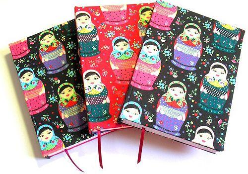 Cadernos Bonecas Russas