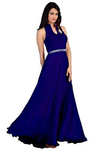 Amazon Offering you Womens Faux Georgette Princess Cut Dress  with beautiful brotch, alterable upto size 42. Shop Now.- http://grabeon.com/store/amazon/