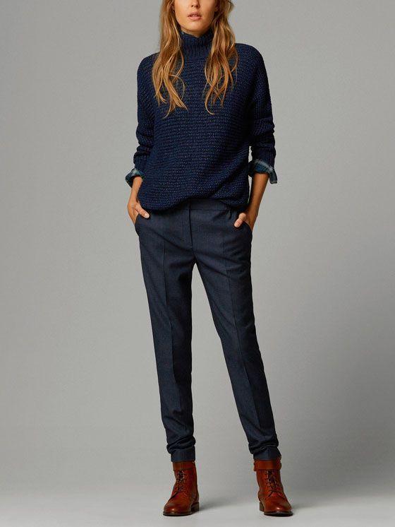 Hosen für Damen   Massimo Dutti Frühjahr Sommer Kollektion 2020
