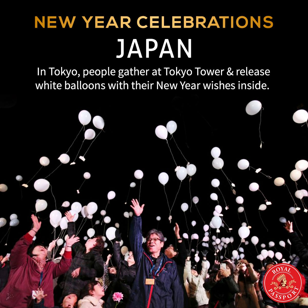Even though people in Tokyo celebrate NewYearsEve in