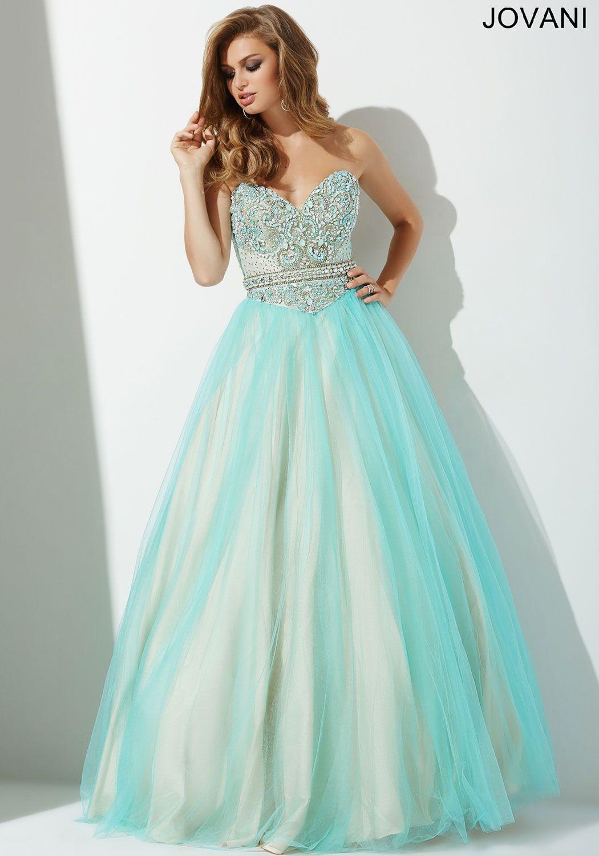 Aqua Blue Ballgown Prom Dress 27772 | prom dresses 2016 | Pinterest ...