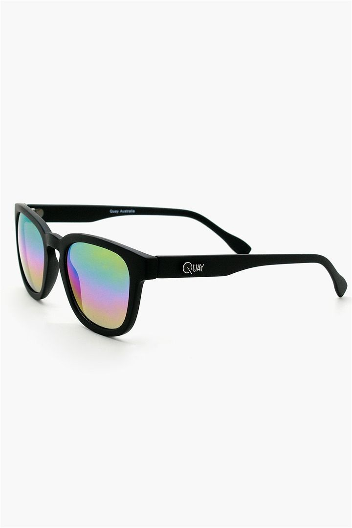 7fde3c0e393 Codex Quay Sunglasses in Black