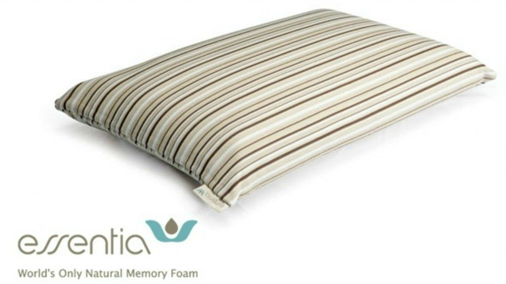 Natural Memory Foam Pillow from Essentia #FMEGifts #Giveaway - Frugal Mom Eh!