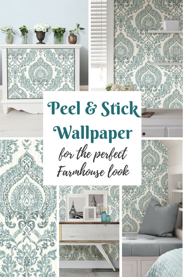 Peel and Stick Wallpaper!?!??! WHHHAAATT?? Where have you