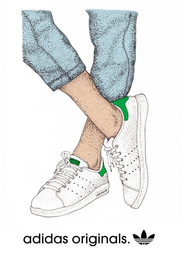 Originals Illustration Ny Smith Andi Adidas By Stan Weigel Hqfxwd