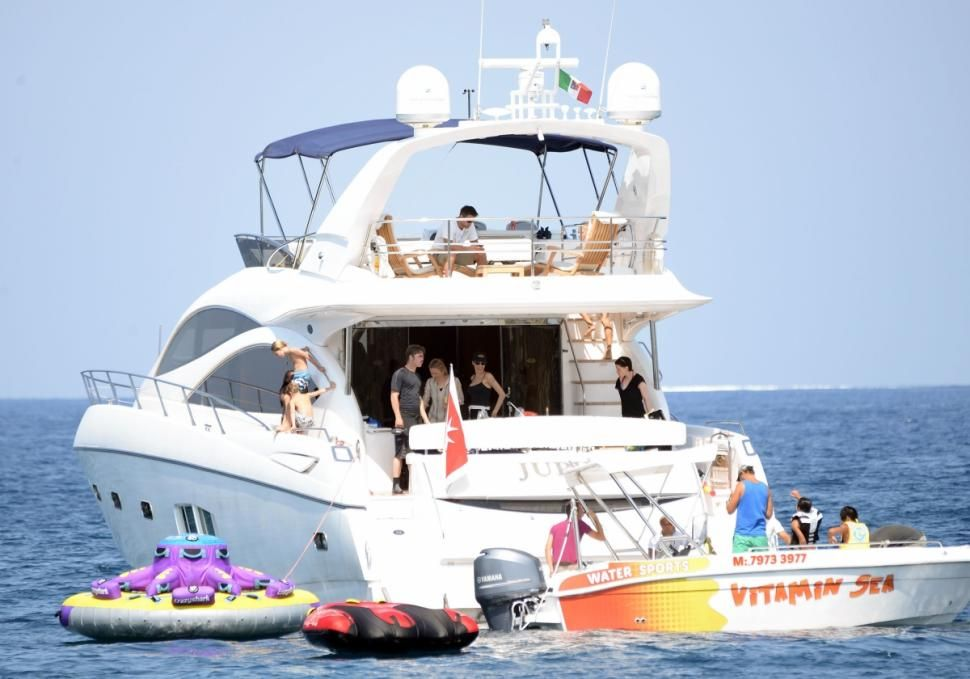 Angelina Jolie And Brad Pitt Spotted On Yacht In Malta In First