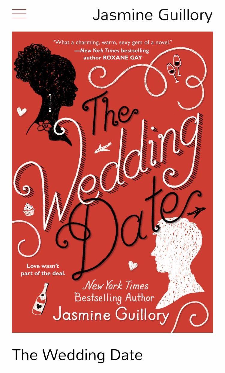 The Wedding Date The wedding date, Audio books, Sunshine