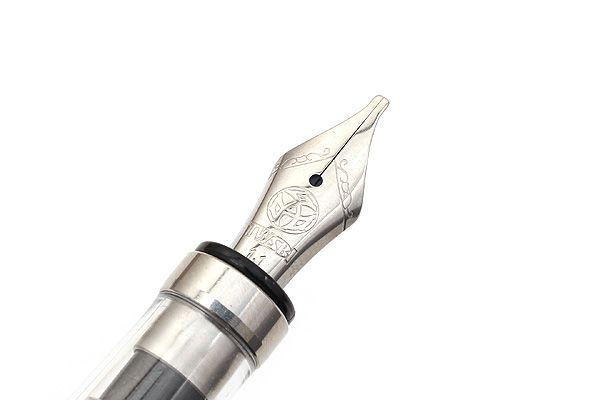 TWSBI Diamond 580 Clear Fountain Pen - Stub 1 1 mm Nib