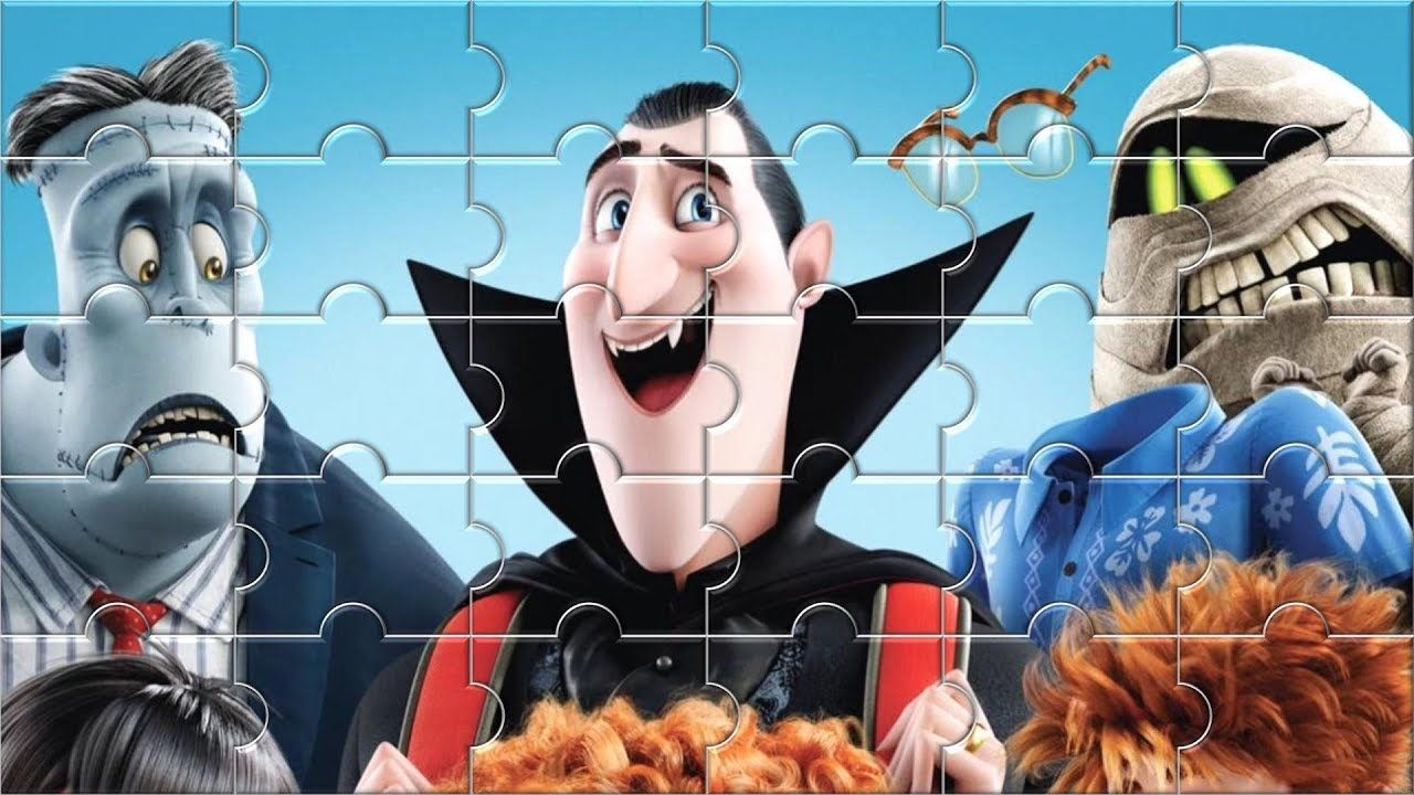 Hotel Transylvania 3 Jigsaw Puzzle Game for Kids - Puzzle video for ...