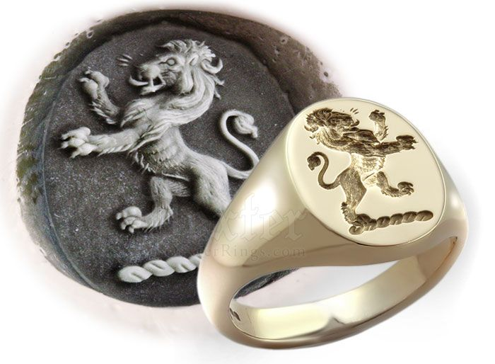 Campbell Clan Signet Ring
