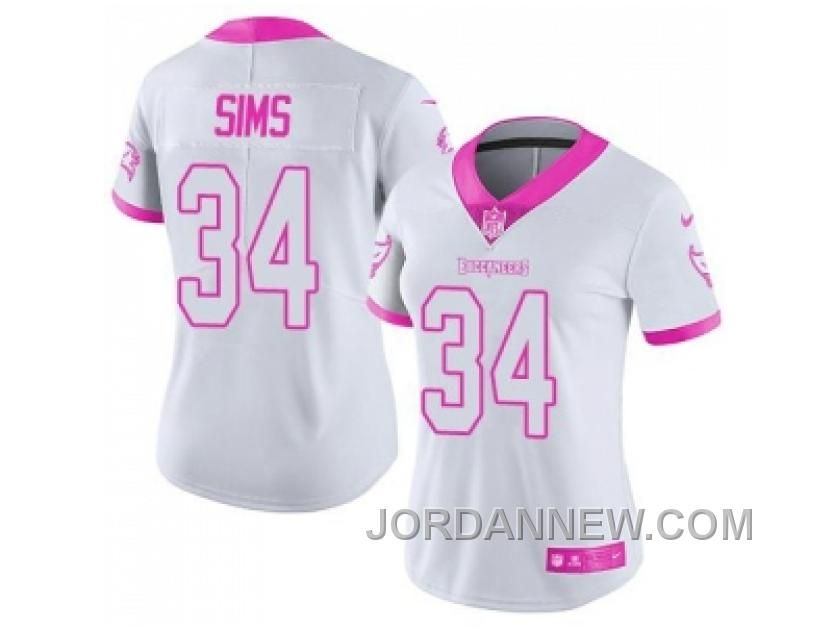 http://www.jordannew.com/womens-nike-tampa-bay-buccaneers-34-charles-sims-white-pink-stitched-nfl-limited-rush-fashion-jersey-lastest.html WOMEN'S NIKE TAMPA BAY BUCCANEERS #34 CHARLES SIMS WHITE PINK STITCHED NFL LIMITED RUSH FASHION JERSEY LASTEST Only 21.74€ , Free Shipping!